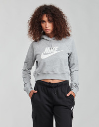 Textil Mulher Sweats Nike NIKE SPORTSWEAR ESSENTIAL Cinza / Branco