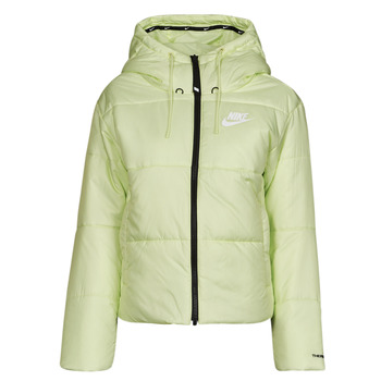 Textil Mulher Quispos Nike W NSW TF RPL CLASSIC TAPE JKT Verde / Preto / Branco