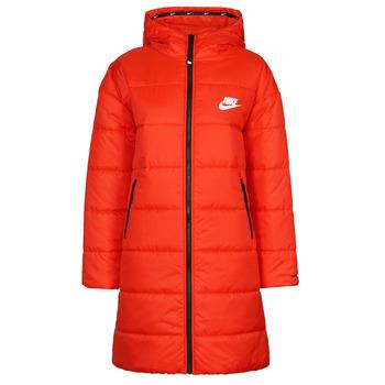 Textil Mulher Quispos Nike W NSW TF RPL CLASSIC HD PARKA Vermelho / Preto / Branco