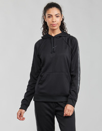 Textil Mulher Sweats Nike W NSW PK TAPE PO HOODIE Preto