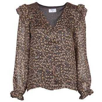 Textil Mulher Tops / Blusas Betty London PAULINE Preto