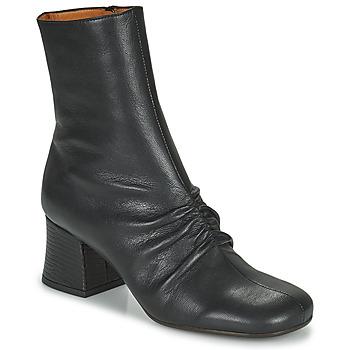 Sapatos Mulher Botins Chie Mihara MERU Preto / Castanho