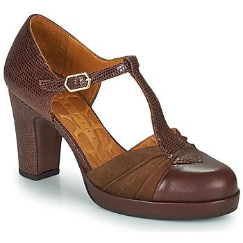 Sapatos Mulher Escarpim Chie Mihara JUDETA Castanho
