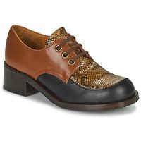 Sapatos Mulher Mocassins Chie Mihara TUDU Castanho / Preto