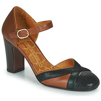 Sapatos Mulher Escarpim Chie Mihara WABE Camel / Preto