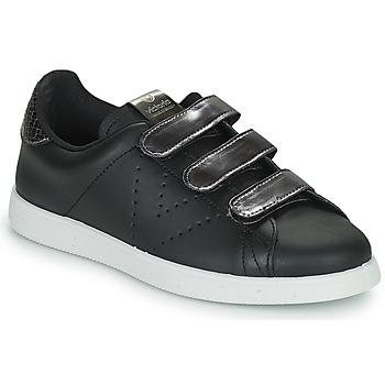 Sapatos Mulher Sapatilhas Victoria HUELLAS  TIRAS Preto