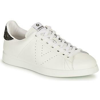 Sapatos Mulher Sapatilhas Victoria TENIS PIEL Branco / Prata