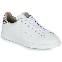 Sapatos Mulher Sapatilhas Victoria TENIS VEGANA/ GALES Branco / Cinza