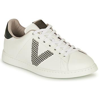 Sapatos Mulher Sapatilhas Victoria TENIS VEGANA GAL Branco / Cinza