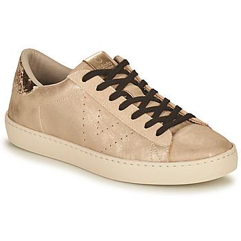 Sapatos Mulher Sapatilhas Victoria BERLIN METAL Bege