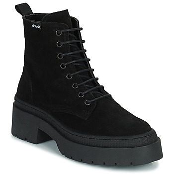Sapatos Mulher Botas baixas Victoria CIELO SERRAJE Preto