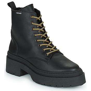 Sapatos Mulher Botas baixas Victoria CIELO PIEL VEGANA Preto