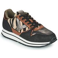 Sapatos Mulher Sapatilhas Victoria COMETA MULTI Preto / Castanho