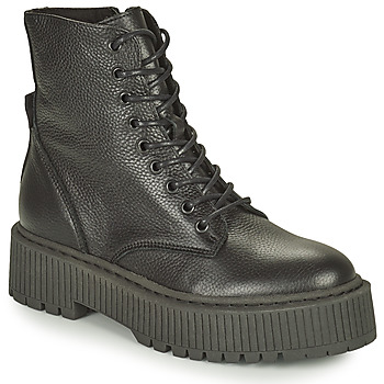 Sapatos Mulher Botas baixas Steve Madden SKYHY Preto
