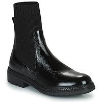 Sapatos Mulher Botas baixas Regard CALES Preto