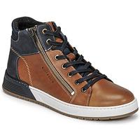 Sapatos Rapaz Sapatilhas Bullboxer AOF506COGN Castanho / Marinho