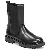 Sapatos Rapariga Botas baixas Bullboxer AJS504BLCK Preto