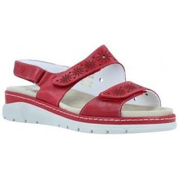 Sapatos Mulher Sandálias Suave  Vermelho