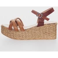 Sapatos Mulher Sandálias Porronet 2731 Marrón