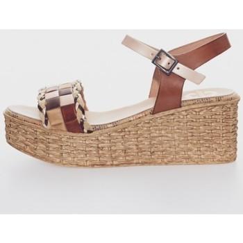 Sapatos Mulher Sandálias Porronet 2729 Marrón