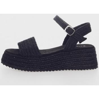 Sapatos Mulher Sandálias Kamome C1332 Negro