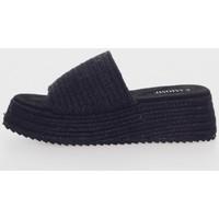 Sapatos Mulher Chinelos Kamome C1331 Negro
