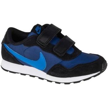 Sapatos Criança Sapatilhas Nike MD Valiant Psv Preto, Azul marinho