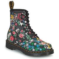 Sapatos Mulher Botas baixas Dr Martens 1460 PASCAL Preto / Multicolor
