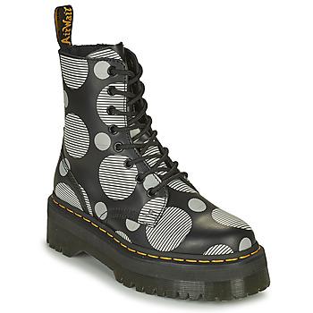 Sapatos Mulher Botas baixas Dr Martens JADON Branco / Cinza