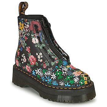 Sapatos Mulher Botas baixas Dr Martens SINCLAIR Preto / Multicolor