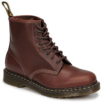 Sapatos Homem Botas baixas Dr Martens 1460 Castanho