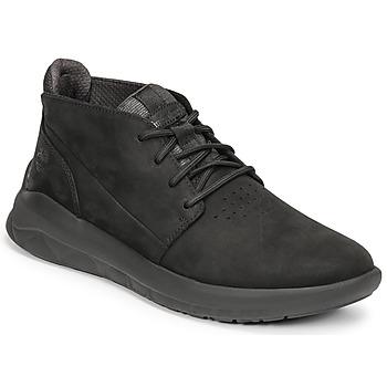 Sapatos Homem Sapatilhas de cano-alto Timberland BRADSTREET ULTRA PT CHK Preto