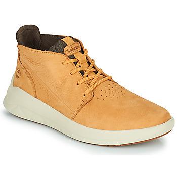 Sapatos Homem Sapatilhas de cano-alto Timberland BRADSTREET ULTRA PT CHK Bege