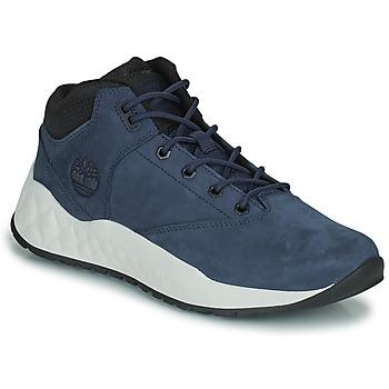 Sapatos Homem Sapatilhas de cano-alto Timberland SOLAR WAVE SUPER OX Azul