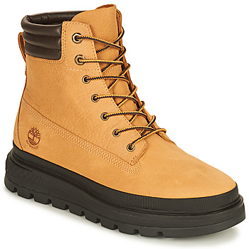 Sapatos Mulher Botas baixas Timberland RAY CITY 6 IN BOOT WP Trigo