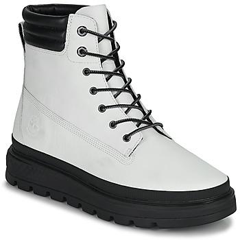 Sapatos Mulher Botas baixas Timberland RAY CITY 6 IN BOOT WP Branco