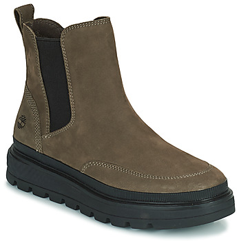 Sapatos Mulher Botas baixas Timberland RAY CITY CHELSEA Cáqui