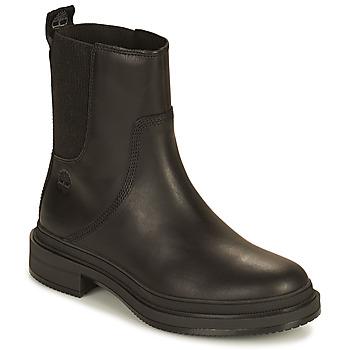 Sapatos Mulher Botas baixas Timberland LISBON LANE CHELSEA Preto