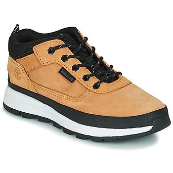 Sapatos Criança Sapatilhas de cano-alto Timberland FIELD TREKKER LOW Trigo