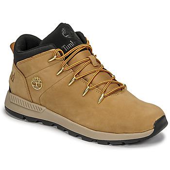Sapatos Criança Sapatilhas Timberland SPRINT TREKKER MID Trigo