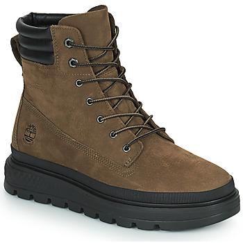 Sapatos Mulher Botas baixas Timberland RAY CITY 6 IN BOOT WP Cáqui
