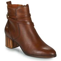Sapatos Mulher Botins Pikolinos CALAFAT Castanho