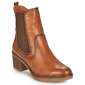 Sapatos Mulher Botins Pikolinos LLANES Castanho