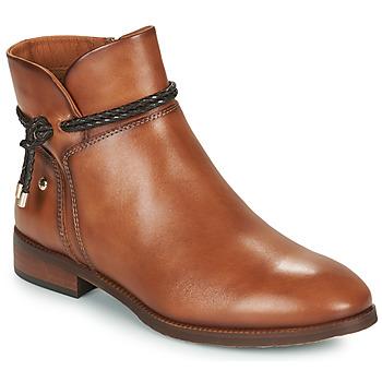 Sapatos Mulher Botas baixas Pikolinos ROYAL Castanho