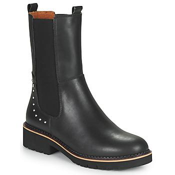 Sapatos Mulher Botas baixas Pikolinos VICAR Preto