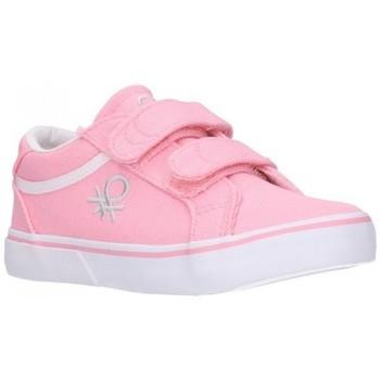 Sapatos Rapariga Sapatilhas Benetton BTK110115 VOID SS21 Niña Rosa rose