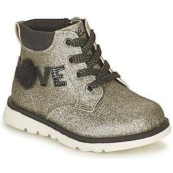 Sapatos Rapariga Botas baixas Chicco FLORINA Prata