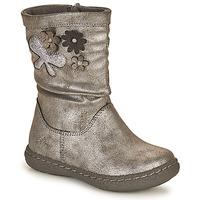 Sapatos Rapariga Botas Chicco CAROL Prata