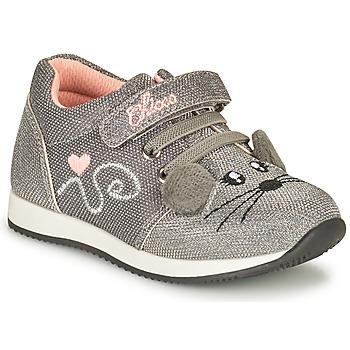 Sapatos Rapariga Sapatilhas Chicco FLEXY Prata
