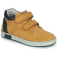 Sapatos Rapaz Sapatilhas de cano-alto Chicco CODY Castanho / Marinho